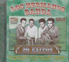 Los Hermanos Banda 20 Exitos Vol 2 New Nuevo sealed