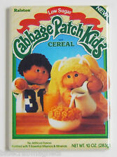 Cabbage Patch Kids FRIDGE MAGNET (2 x 3 inches) cereal box table doll