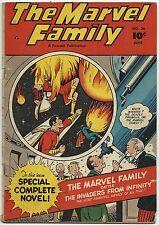 Marvel Family #36 Captain Marvel Mary Marvel Captain Marvel, Jr. - 4.0 VG