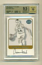 JERRY WEST 2001 FLEER GREATS OF THE GAME AUTOGRAPH BGS 9.5 GEM MINT LAKERS HOF