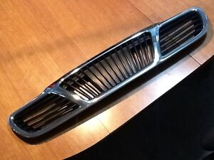2000 Daewoo Lanos Grill Grille Chrome & Black Free Shipping