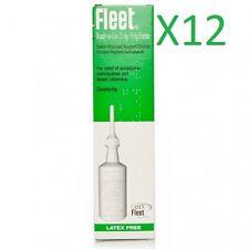 12 x Cleen Fleet Ready To Use 21.4g Latex Free Enema