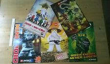 LEGO NINJAGO Ninja WU CRU Day Of The Departed Magazine Posters x5 - Lloyd Zane