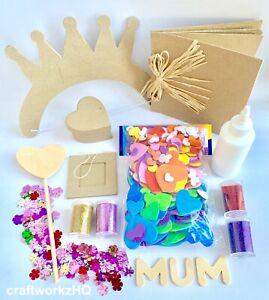 Kids Art & Craft Kit - DIY Mothers Day Craft pack - AUS SELLER