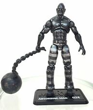 "Marvel Universe ABSORBING MAN VARIANT Metal Form 3.75"" Action Figure #024 Hasbro"