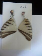 Handmade REAL Butterfly Earrings Imported Colombia #23