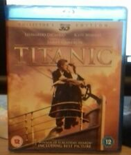 Titanic 3D & 2D Blu-ray 3 Disc Set New And Sealed