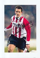 PSV HAND SIGNED JAN VENNEGOOR OF HESSELINK 12X8 PHOTO.