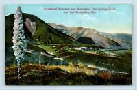 San Bernardino, CA - ARROWHEAD HOT SPRINGS - POSTCARD - W5