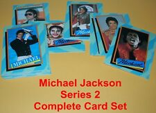 MICHAEL JACKSON Series  2    - TRADING CARDS   COMPLETE SET - 33 Different Cards