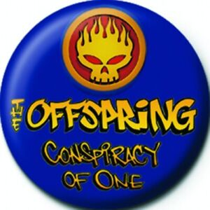The Offspring - Button Badge Pin- Pinback Style- Logo 1 Inch Size - Licensed New