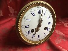 Fabulous Japy Freres   French 8 Day Clock Movement  Stunning Dial