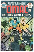 OMAC 6 DC 1975 FN Jack Kirby Subway Train Car