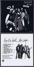 """Alice Cooper """"Love it to death"""" Neun Songs in Rhino-Qualität! 3. Werk! Neue CD!"""