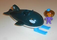 BBC CBeebies TV Toys-Octonauts Figuras De Acción-GUP Dashi (OCT40) y O