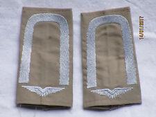 Bw-Rangschlaufen: Unteroffizier,  Luftwaffe , weiß/khaki