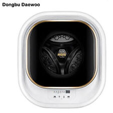 Dongbu Daewoo DWD-03MCWR Wall-Mounted Type Mini Drum Washing Machine 220V 60hz