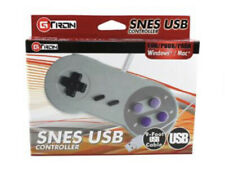 SNES USB Controller Gamepad for Windows PC Mac Raspberry Pi 3 Gray