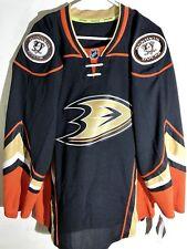 Reebok Authentic NHL Jersey Anaheim Ducks Team Black sz 56