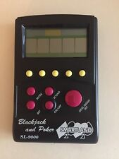 Black Jack & Poker SL-9000 Hand Held Video Game