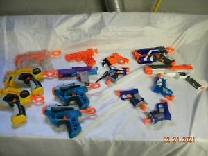 Large Nerf Bundle Lot of 14 single shot (Party Pack )