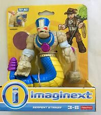 NIB Fisher Price Imaginext Mummy Serpent Striker Action Figure Toys
