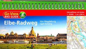 ELBE Radweg von Magdeburg nach Schöna BIKE GUIDE 2018/19 + KARTEN 1:50000