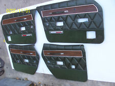 1969 1970 MERCURY MARQUIS DOOR PANELS RIGHT LEFT FRONT REAR USED OEM 4 PCS