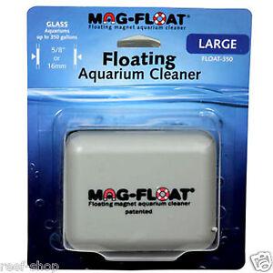 Mag Float Large Glass Aquarium Cleaner Float 350 Large Algae Cleaner