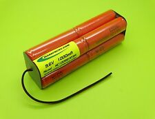 NEW Nicad 9.6V 1000mA BATTERY REPLACEMENT 4 FUTABA 9Z TRANSMITTER USA MADE!