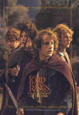 LORD OF THE RINGS 1: THE FELLOWSHIP OF THE RING Movie Promo POSTER M Elijah Wood