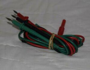 Unfused 3 Wire Test Lead Set for Megger MFT1502, MFT1552, MFT1553
