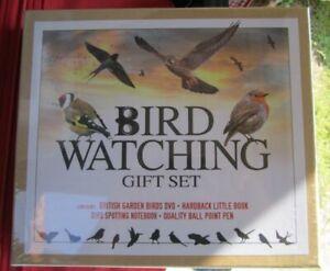 LOOK ! QUALITY BIRD WATCHING GIFT SET RRP £12.99, including DVD Hardback Book