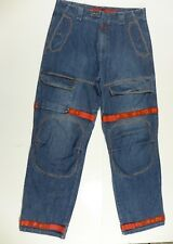 Marithe Francois Girbaud Denim Blue Jeans Pants Mens Size 38x36 Tall Cargo RARE