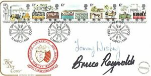 Bruce REYNOLDS & Tommy WISBEY Great Train ROBBERY SIGNED FDC 2 AFTAL COA
