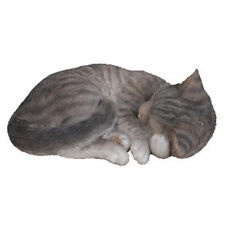 Tabby Sleeping Cat Ornament Vivid Arts XRL-ZC33-B