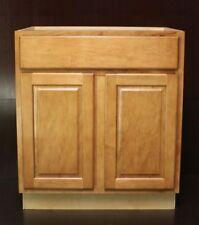 """Kraftmad Praline Maple Kitchen Base Cabinet 30"""" / Bathroom Vanity Sink"""