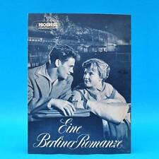 """547 Progress-Filmillustrierte 44/1956 """"Eine Berliner Romanze"""" DDR Ulrich Thein"""