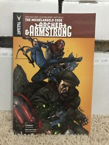 Archer & Armstrong Volume 1 The Michelangelo Code Valiant Comics TPB Van Lente