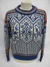 Fairisle Icelandic Dale of Norway Lillehammer Sweater, X Small, Wool, 54cm Wide