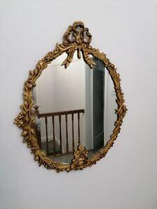 Vintage Ornate Gilt Framed Mirror