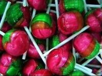 Rosey Apple x 20 Lollipops 14g Bulk Lollies Candy Buffet Party Favors Rosy Sweet