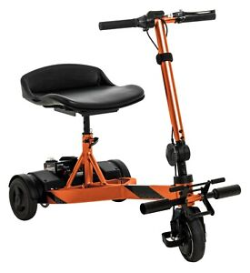 Pride iRide Compact Portable 3-Wheel Electric Travel Mobility Scooter 48lbs