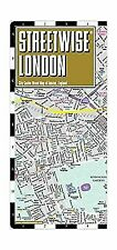 Streetwise London Map - Laminated City Center Street Map of London, England (Mi