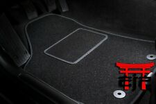 Velours rot Fußmatten passend für AUDI A6 C4 94-97