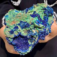 334G   BEST NATURAL Azurite/Malachite crystalminerals specimensDL145