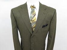 Ermenegildo Zegna Neiman Marcus Silk Wool Blazer Jacket Sport Coat 46 R Italy