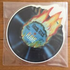 "Cheap Trick - Flame 7"" Shaped Picture Disc Vinyl"
