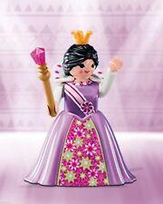 (N6841.3) playmobil série 10 fille reine robe à fleurs ref 6841 neuf