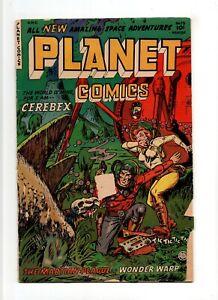 Planet Comics #73 VINTAGE Fiction House Publications Comic SciFi Golden Age 10c